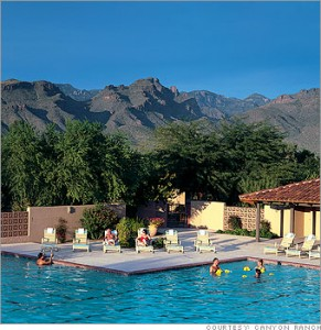 Canyon Ranch Spa in Arizona