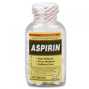 Aspirin Bayer Over The Counter Medication